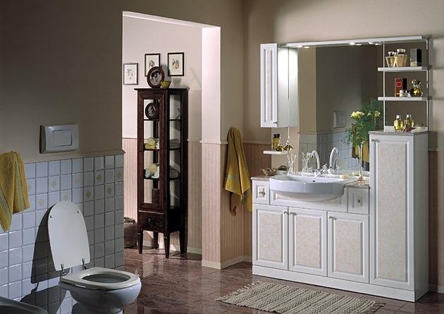 Orologio su pannello d arredo - Arredo bagno classico elegante prezzi ...