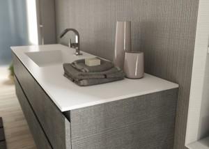 La manutenzione del mobile bagno pulizia arredo bagno - Mobile bagno laminato ...