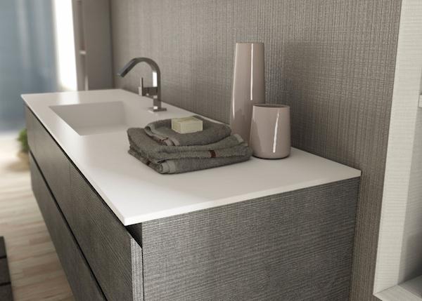 Mobili da bagno con lavatrice incassata termosifoni in for Arredo bagno lavatrice