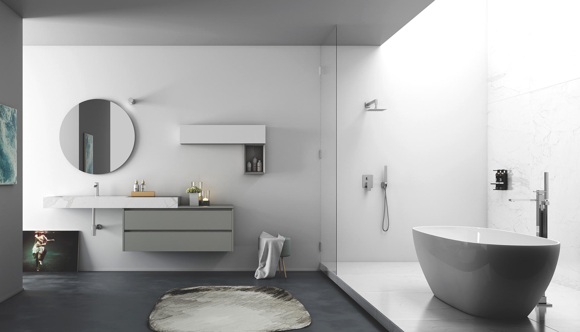 offerte bagni moderni ~ Comarg.com = Lussuoso Design del Bagno con ...