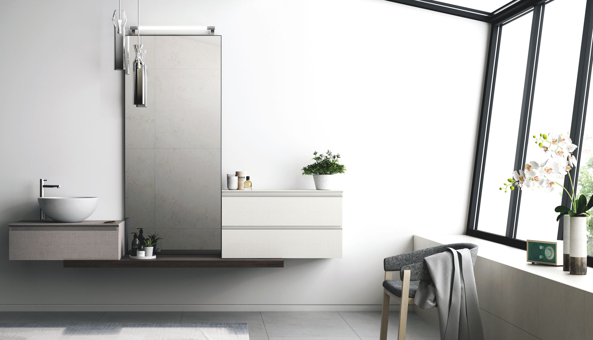 Creative Taking The Lead Spot This Season, Mereway Bathrooms Are Delighted With The Success Of Segreto Handleless Design From Their Collection  Its Easy To See Why Mereway Bathrooms Furniture Is A Must Have For Any Retailer