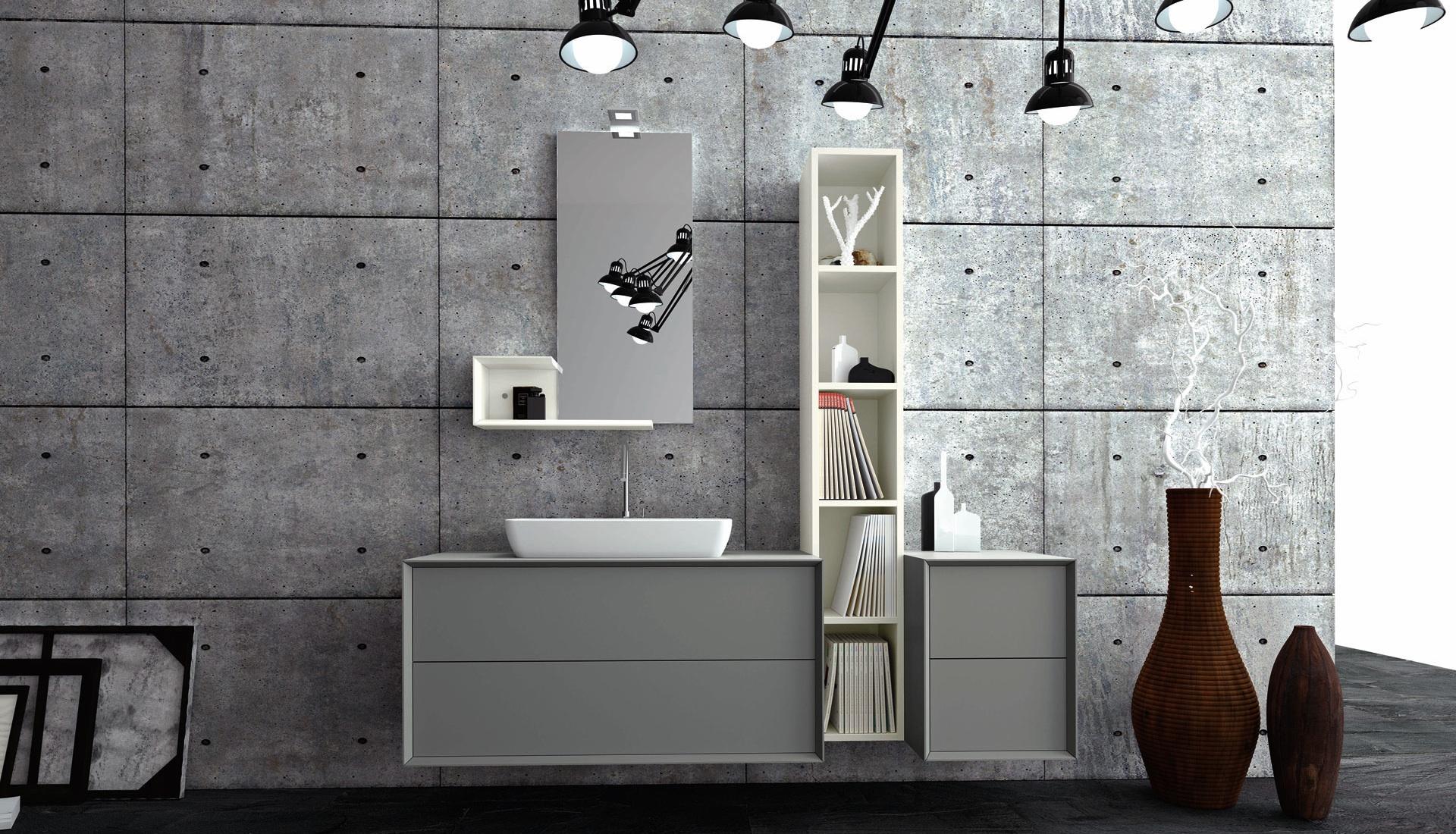 Arredo bagno su misura e mobili per il bagno puntotre for Bagno nei piani del garage