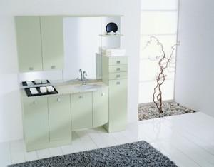 Lavatrice da incasso, come scegliere per integrarla nel mobile bagno