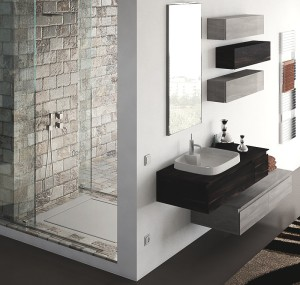 The design and the evolution of space in the modern for Designer bagno