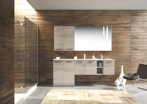 Bagno e lavanderia, possibile e con stile