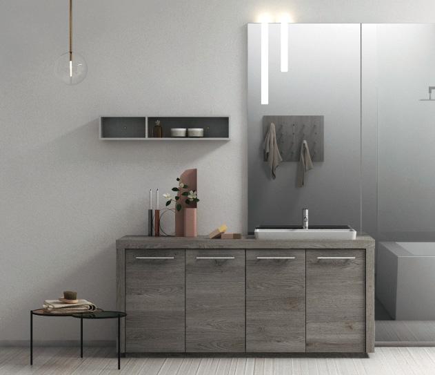 La soluzione a terra per l\'arredo bagno moderno - Puntotre ...