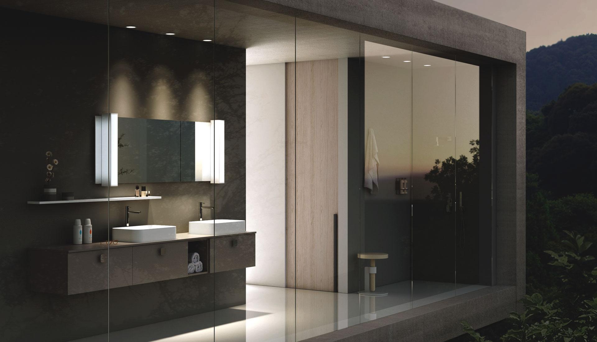 arredo bagno con maniglia - puntotre arredobagno - Foto Arredo Bagno