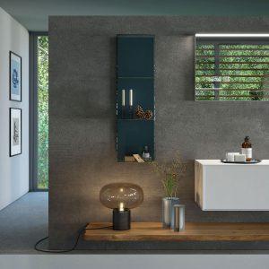 arredo-bagno-legno-massello-abete-grezzo - Puntotre Arredobagno