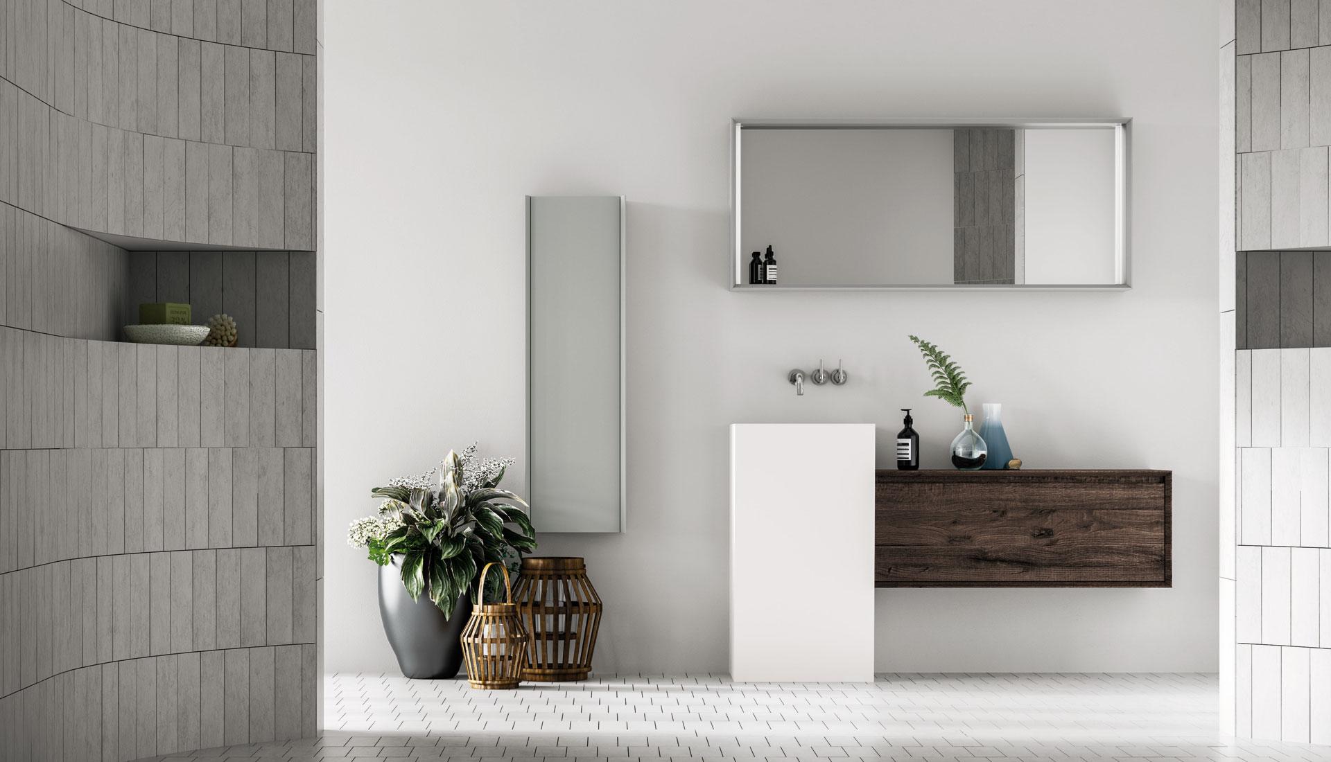 arredo bagno: mobili e arredamento bagno su misura - puntotre - Mobili Arredo Per Bagno