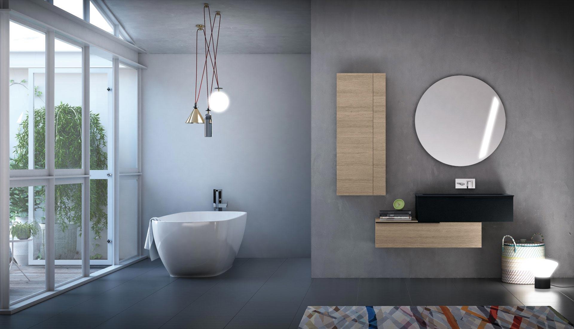 arredo bagno: mobili e arredamento bagno su misura - puntotre - Arredo Bagno Modena