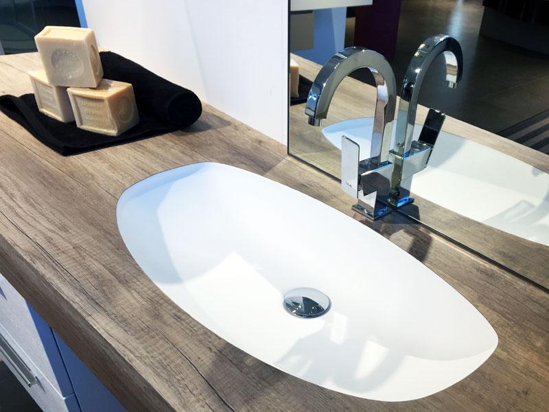 ocritech, il nuovo solid surface per l'arredo bagno - puntotre ... - Arredo Bagno Puntotre