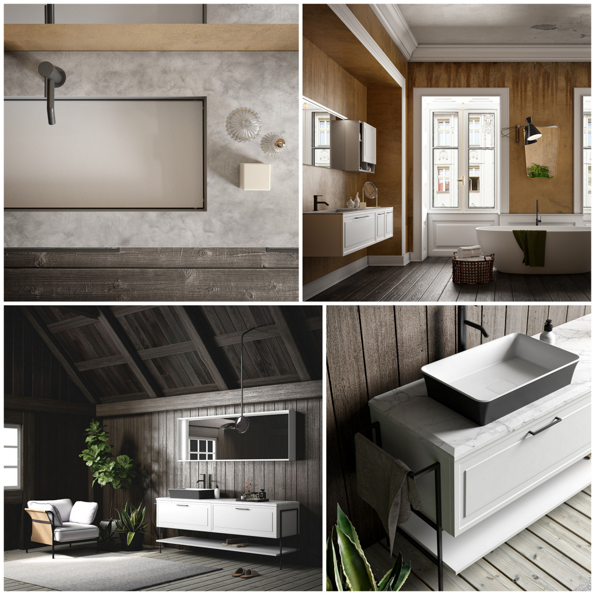 First Pictures Of The New Puntotre S Bathroom Furniture