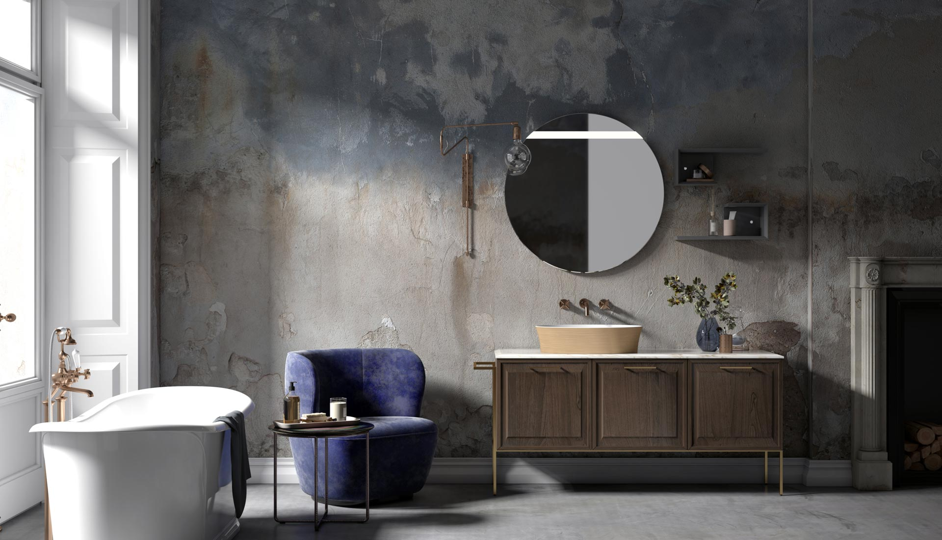 Puntotre produzione arredo bagno e mobili per il bagno su - Mobili arredo bagno roma ...